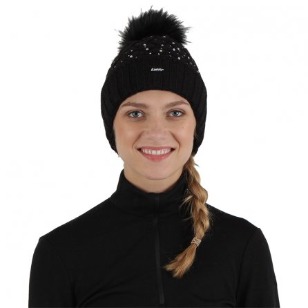 Eisbar Alice Lux Crystal Mu Hat (Women's) - Black