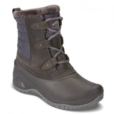 The North Face Shellista II Shorty Boot (Women's) - Dark Gull Grey/Cloud Grey