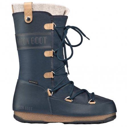 Moon Boot by Tecnica Monaco Felt Boot (Women's) - Denim