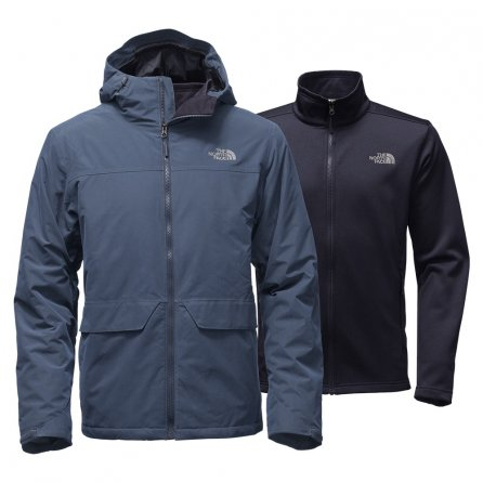 The North Face Canyonlands Triclimate Ski Jacket (Men's) - Shady Blue