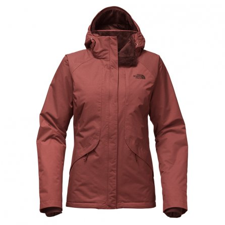 The North Face Inlux Insulated Ski Coat (Women's) - Barolo Red Heather