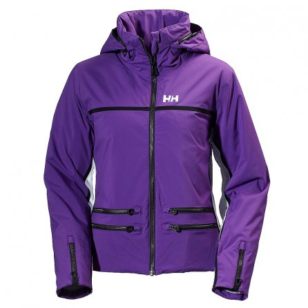 Helly Hansen Star Insulated Ski Jacket (Women's) - Sunburned Purple