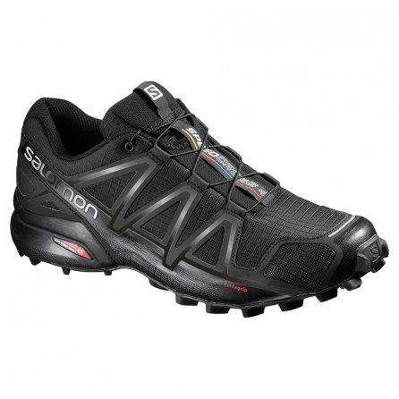 Salomon Speedcross 4 Running Shoe (Men's) - Black