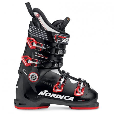 Nordica Speedmachine 100 Ski Boot (Men's) - Anthracite/Black/Red