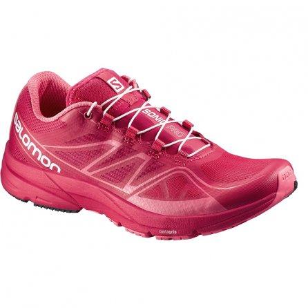 Salomon Sonic Pro Running Shoes (Women's) - Lotus Pink/Madder Pink