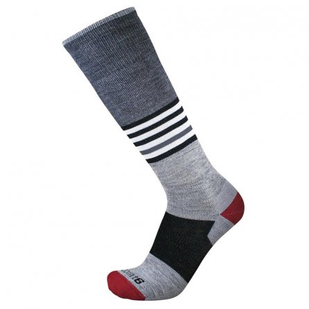 Point6 Medium Wild Child Sock (Adults') - Stone Grey