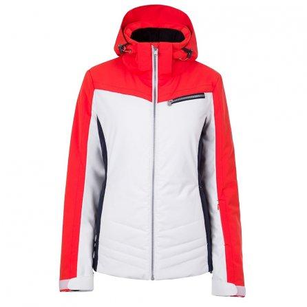 Fera Tanya Insulated Ski Parka (Women's) - Lava/White Cloud/Navy