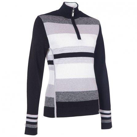 Neve Designs Chloe Half Zip Sweater (Women's) - Black