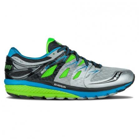Saucony Zealot 2 Running Shoe (Men's) - Blue/Slime/Silver