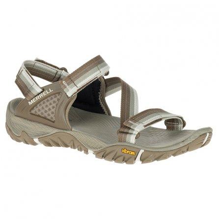 Merrell All Out Blaze Web Sandals (Women's) - Aluminum