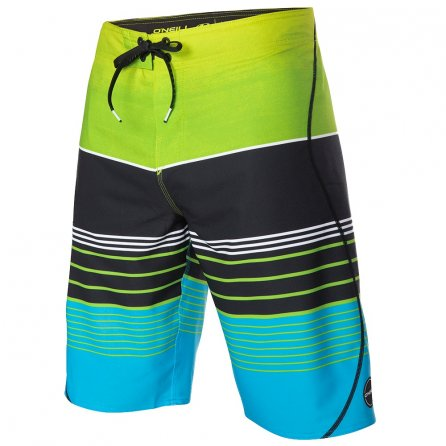 O'Neill Hyperfreak Transfer S-Seam Boardshorts (Men's) - Lime