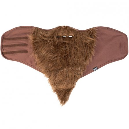 Neff Bearded Snowboard Facemask - Brown