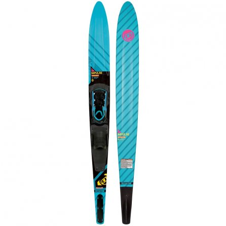"O'Brien Impulse 64"" Slalom Skis with X-9 Bindings (Women's) -"