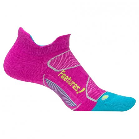 Feetures Elite Max Cushion Running Sock (Women's) - Wisteria Rose/Reflector