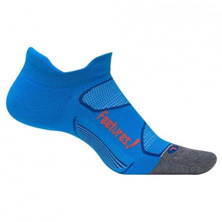 Feetures Elite Max Cushion Running Sock (Men's) - Bright Blue/Lava