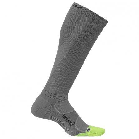 Feetures Graduated Compression Socks Light Cushion (Men's) - Graphite/Black