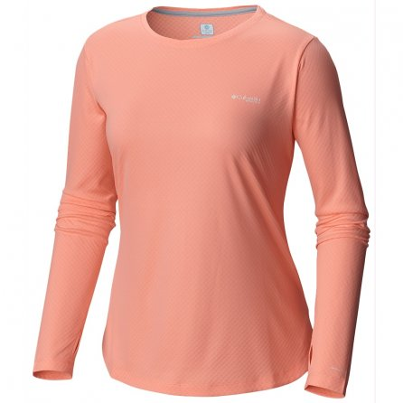 Columbia Tidal Tee II Long Sleeve Shirt (Women's) - Tiki Pink
