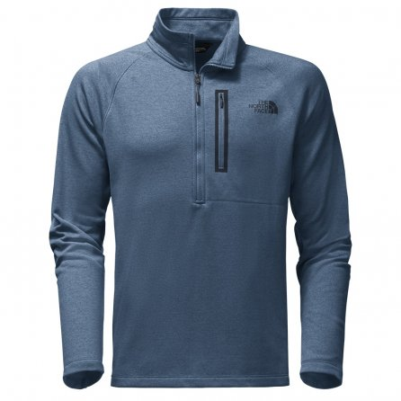 The North Face Canyonlands Half Zip Sweater (Men's) - Shady Blue Heather