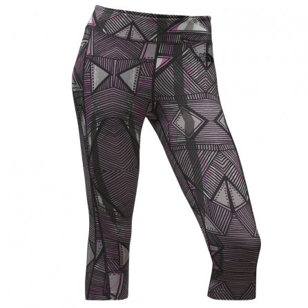 The North Face Pulse Capri Tight (Women's) - TNF Black Funkdified