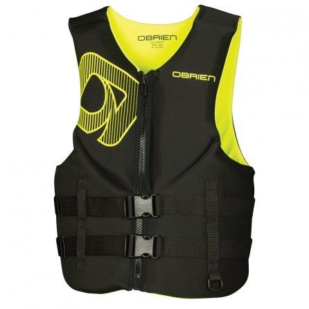 O'Brien Traditional Biolite Life Jacket (Men's) - Black/Yellow