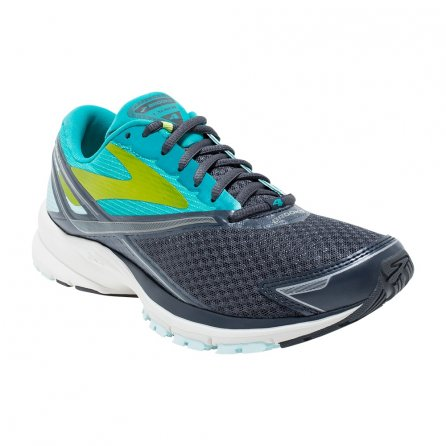 Brooks Launch 4 Running Shoe (Women's) - Anthracite/Ceramic/Lime Punch