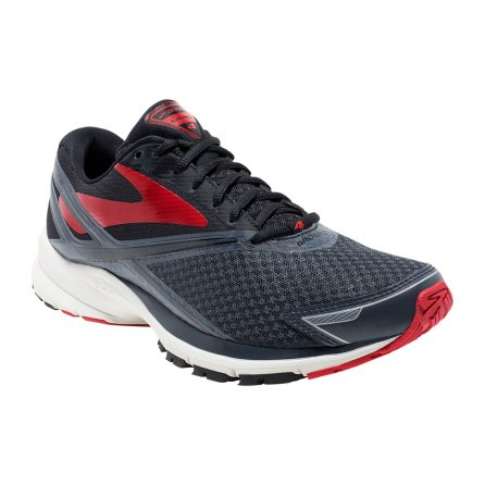 Brooks Launch 4 Running Shoe (Men's) - Anthracite/Black/High Risk Red