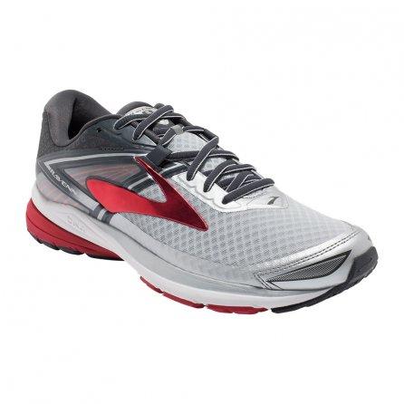 Brooks Ravenna 8 Running Shoe (Men's) - Silver/Anthracite/High Risk Red