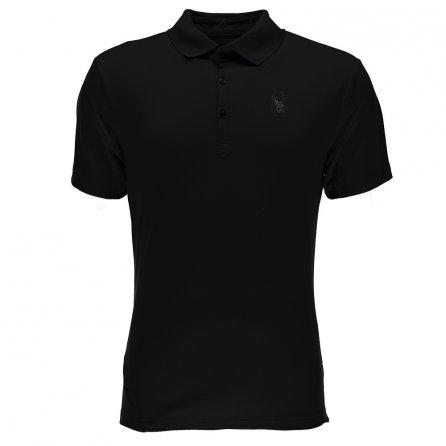 Spyder Alps Tech Polo Shirt (Men's) - Black