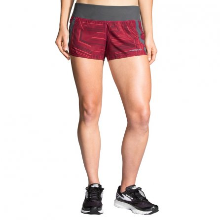 Brooks Chaser Short (Women's) - Sangria