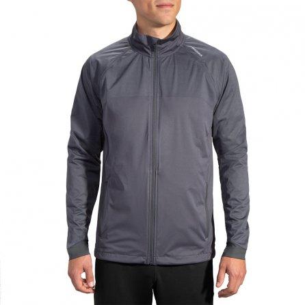 Brooks Drift Shell Running Jacket (Men's) - Asphalt Reflective
