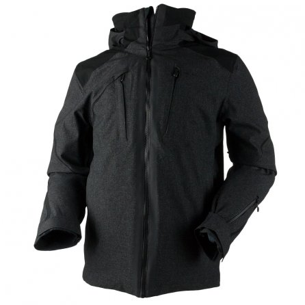 Obermeyer Proton Insulated Ski Jacket (Men's) - Dark Heather Grey