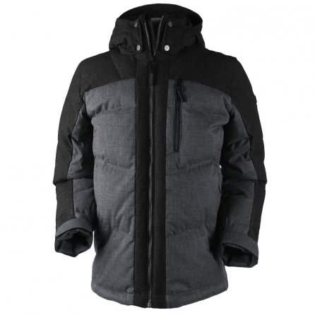Obermeyer Gamma Down Insulated Ski Jacket (Men's) - Charcoal/Gray