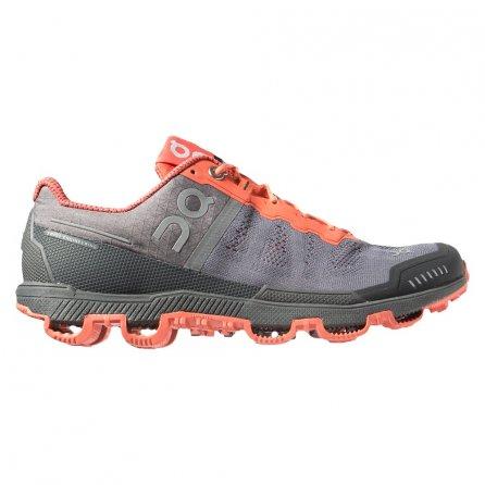 On Cloudventure Running Shoe (Women's) - Grey/Lava