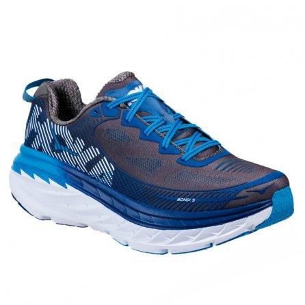 Hoka One One Bondi 5 Running Shoe (Men's) - Charcoal Gray/True Blue