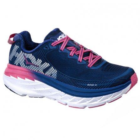 Hoka One One Bondi 5 Running Shoe (Women's) - Sky Blue/Surf the Web