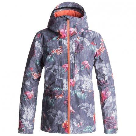 Roxy Essence GORE-TEX Insulated Snowboard Jacket (Women's) - Hawaiin Tropic/Paradise Pink