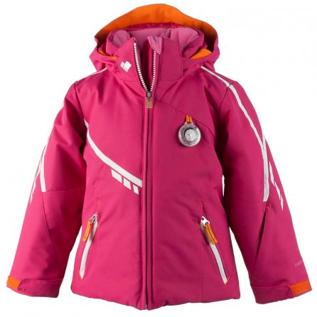 Obermeyer Leyla Insulated Ski Jacket (Little Girls') - Glamour Pink
