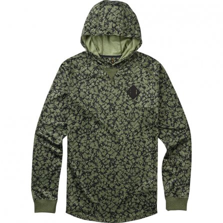 Burton Caption Pullover Sweatshirt (Men's) - Rifle Green Mossglenn