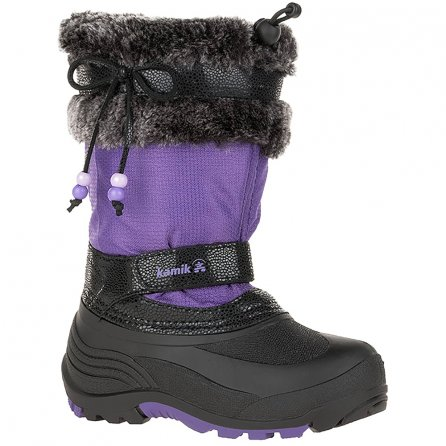 Kamik Plume Winter Boot (Girls') - Purple/Violet