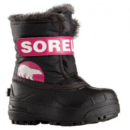 Sorel Snow Commander Boot (Little Girls') - Haute Pink