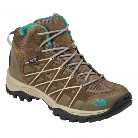 The North Face Storm III Mid Waterproof Boot (Women's) - Cub Brown