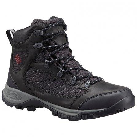 Columbia Cascade Pass Waterproof Hiking Boot (Men's) - Black/Mountain Red