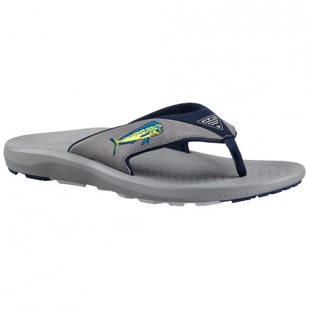 Columbia Fish Flip PFG Sandal (Men's) - Light Gray