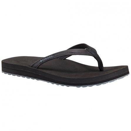Columbia Sorrento Leather Flip Sandal (Women's) - Black